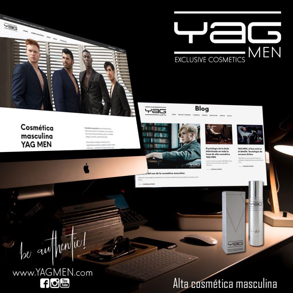 Blog YAG MEN, la cosmética masculina en Internet