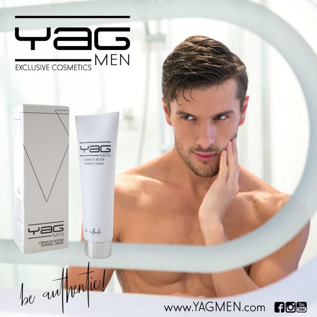 Artículo blog YAG MEN alta cosmética sobre crema de afeitar