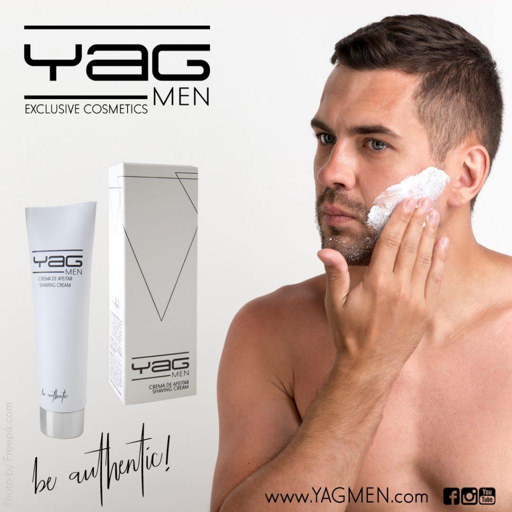 Artículo blog YAG MEN sobre crema de afeitar de calidad